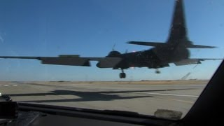 Lockheed U-2 landing at Beale AFB