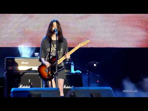 Blood Red Shoes - It's Getting Boring by the Sea (Live in Jakarta, Indonesia, 22 July 2011)