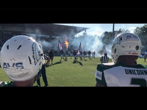CRAZY AMERICAN FOOTBALL IN GERMANY