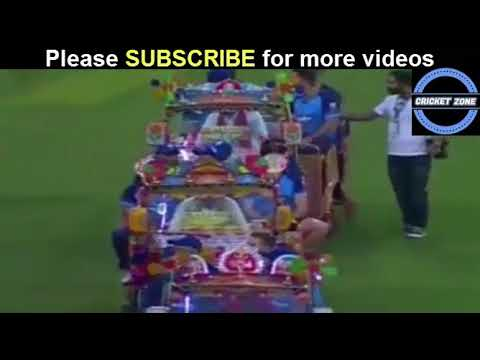 World XI Dabbang entry to Loahore cricket Stadium in special auto Rickshaw | live streaming