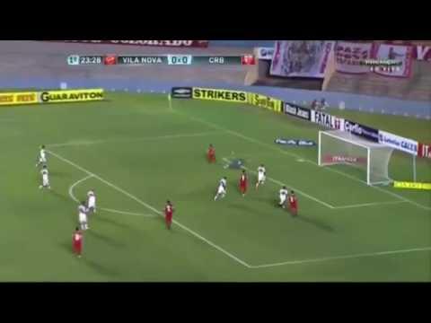 Gols:Vila Nova 1x2 CRB 31/05/16(Brasileirao serie b)