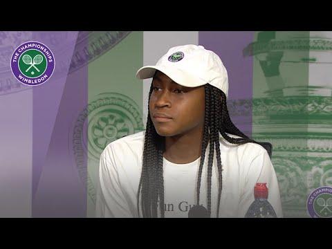 Cori Gauff Wimbledon 2019 First Round Press Conference