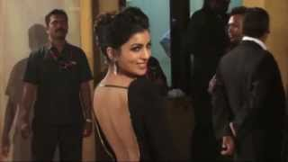 Pallavi Sharda Exposing Hot & Sxey Back At  Filmfare Awards 2014