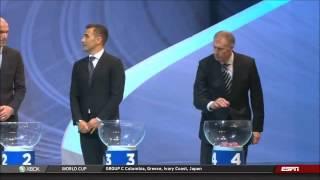 FIFA WM 2014 FAKE AUSLOSUNG (DRAW)