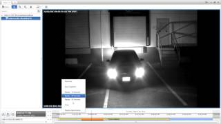 Avigilon - adaptive IR and license plate