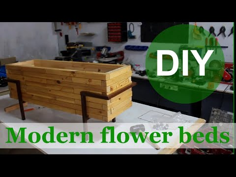 how-to-make-diy-modern-flower-beds-|-planter-box-|-diy-build
