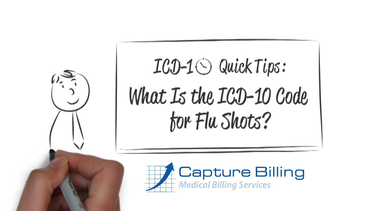 How To Bill Flu Shots under ICD-10