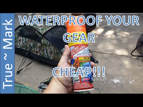 Waterproof Your Gear!!! Cheap & Effective