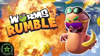 Worms, But We're On the SAME TEAM? - Worms Rumble - Favorites December