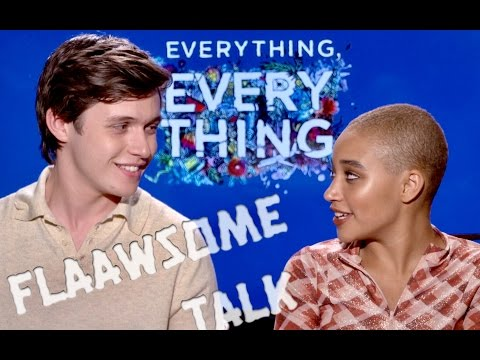 LOVE AT FIRST SIGHT and awkwardness with NICK ROBINSON and AMANDLA STENBERG (Everything Everything)