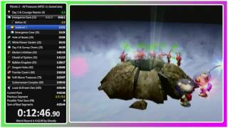 Pikmin 2 - All Treasures Speedrun in 4:40:55.27 (WR as of 11/2/16)