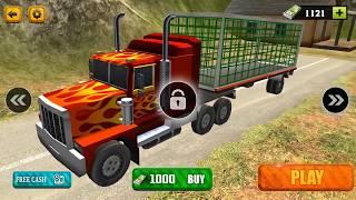 Wild Animal Transport Truck Simulator 2018 |Android/ios Gameplay 2018