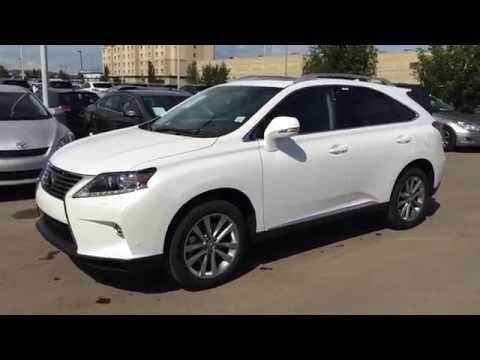 2015 Lexus RX 350 AWD Touring Package Review in White - Westend Edmonton