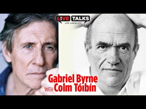 Gabriel Byrne in conversation with Colm Tóibín at Live Talks Los Angeles