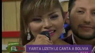 Yarita Lizeth deleitó a Bolivia con su música en Al Día