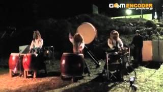 鬼神太鼓KIZINDAIKOの動画! 平成23年、大晦日に可児市土田戸走橋下の...