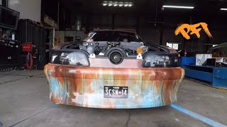 Junkyard Mustang gets new life and Shakes the building!