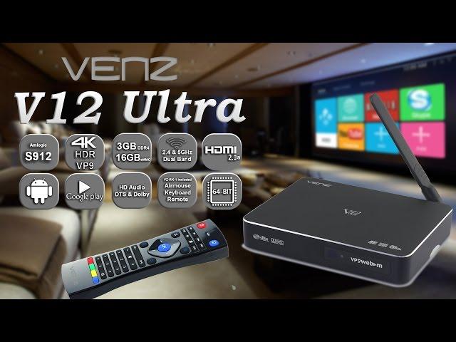 VENZ V12 Ultra introduction video