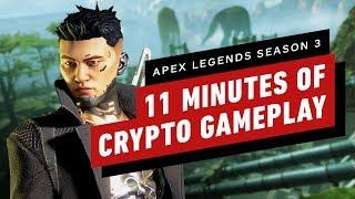 11 Minutes of Crypto Gameplay - Apex Legends Season 3