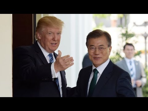 People in South Korea have mixed reactions on Trump's visit
