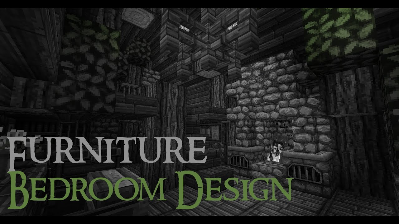 Minecraft Medieval Furniture Bedroom Design [Full HD]   YouTube