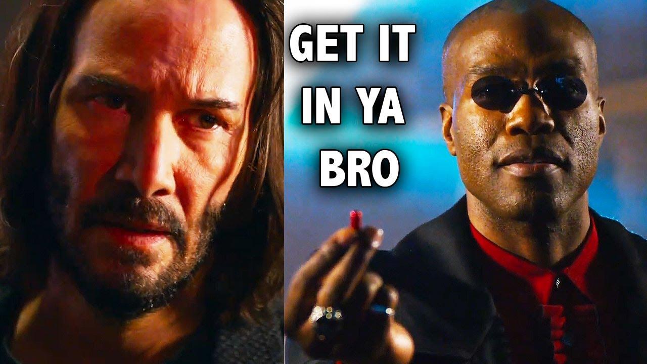 Ozzy Man Reviews: The Matrix 4 Trailer