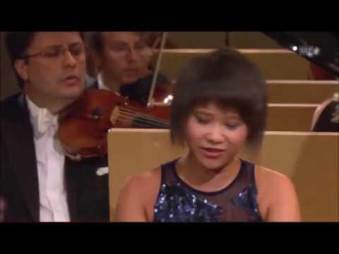 Yuja Wang Prokofiev Piano Concerto No  2 in G minor FULL ~ Lionel Bringuier