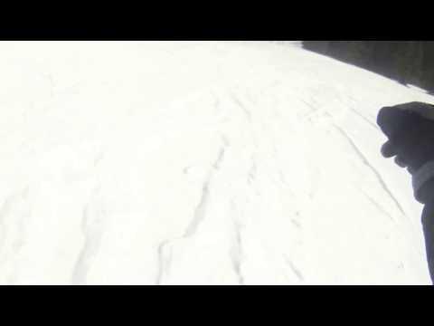 Snowboarding in Ruidoso, New Mexico