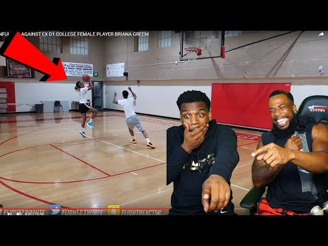FLIGHT GETS MAJORLY EXPOSED BY A FEMALE HOOPER! 1v1 Basketball