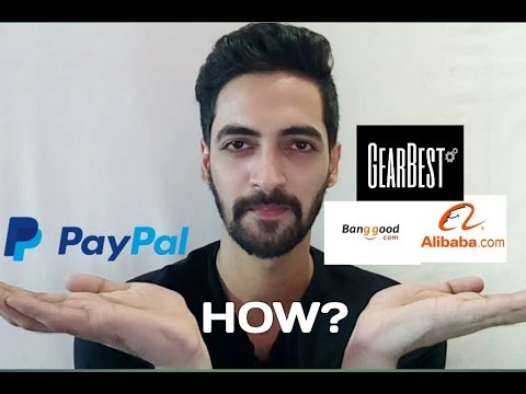 How to Create a PayPal Account in India??? And Buy From Inte