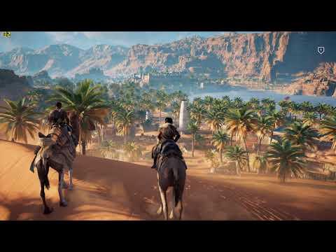 Assassin's Creed Origins on GTX 950 - i5 4460 - first 10 minutes - medium settings 1080p