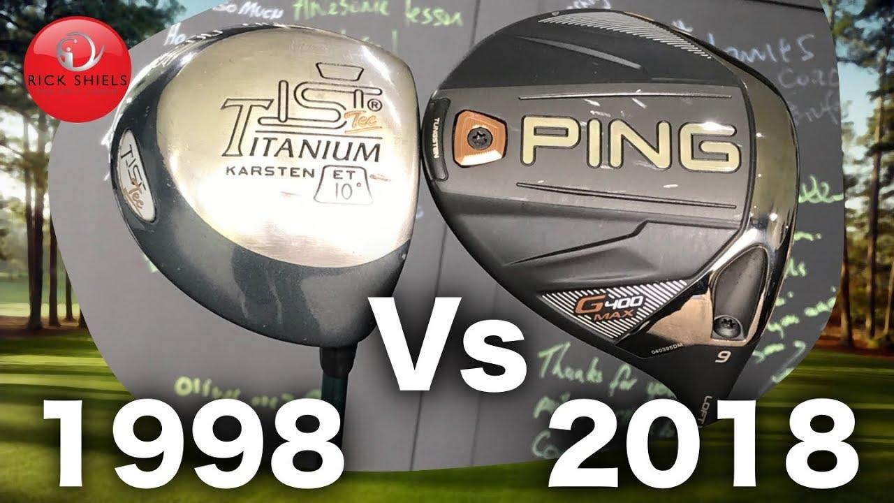 1998 golf driver vs 2018 golf driver 20 year test youtube. Black Bedroom Furniture Sets. Home Design Ideas