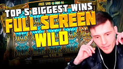 TOP 5 BIGGEST WINS IN CASINO FROM BULLED TV | CASINO GAMES | FULL SCREEN WILD
