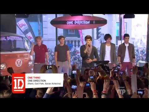 One Direction - One Thing - Live Montreal at Musique Plus