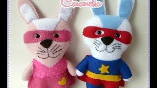 Feltrando sem medo – super coelhinhos por Carmela Caramella