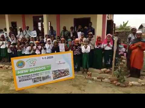 SAVE ROHINGYA : Wakaf Sekolah Rohingya KE-4  Siap Dibina di Manigafarah Village, Myanmar