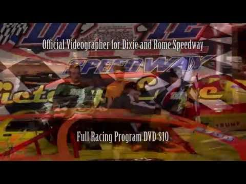 Dixie Speedway 8/13/16 Official Highlights!