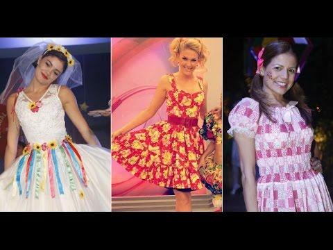 vestidos de festa junina dos fanosos ca162ce123a