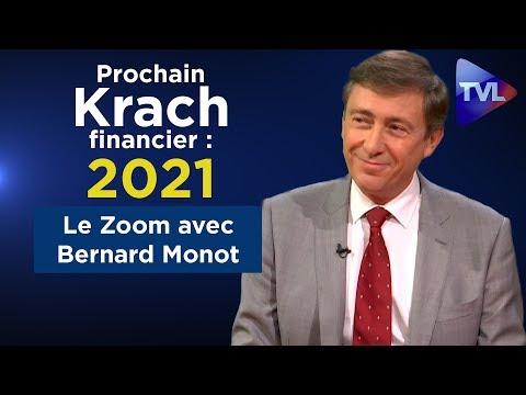 Le prochain krach financier prévu d'ici 2021... Le Zoom - Bernard Monot - TVL