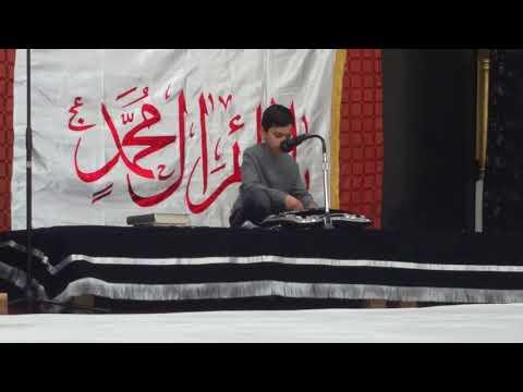 Fard-e-Amaal Mai Bus Ashk Hamaray Hongay by Danial Rizvi at Hussainiyah Passmore (Toronto, Canada