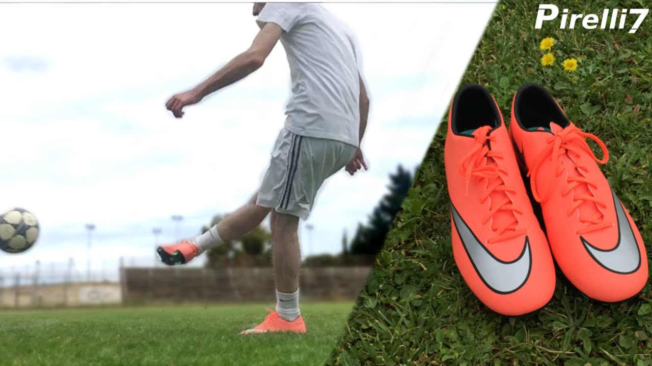 los angeles c44d5 9693f Review 80  Nike Boots ITA   Mercurial Victory V Bright Mango  1080p 60fps -  by Pirelli7 - YouTube