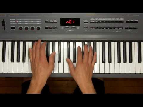 The Way You Make Me Feel PIANO TUTORIAL