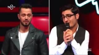 Jürinin Kız Zannettiği Yarışmacının Murat Boz'la Kapışması   YouTube