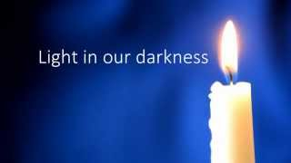 Stay with us O Lord Jesus Christ TAIZE HD with on screen lyrics