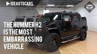 The Hummer H2 Is the Most Embarrassing Vehicle