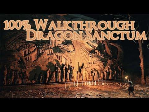 Crown Of The Sunken King 100% Walkthrough Dragon Sanctum (All Items) (Dks 2 DLC)