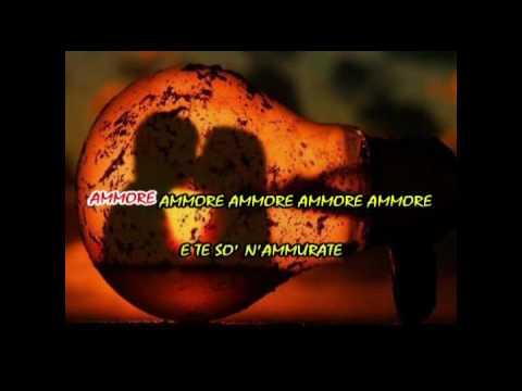 Ammore ammore Tony Colombo Karaoke