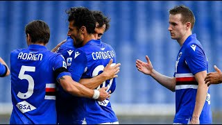 Sampdoria 2 0 AS Roma Serie A Italy All goals and highlights 02 05 2021