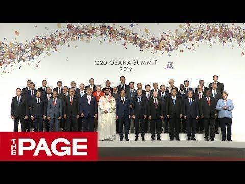 【全編】G20 大阪サミットが開幕 安倍首相が参加国首脳を出迎え(2019年6月28日)