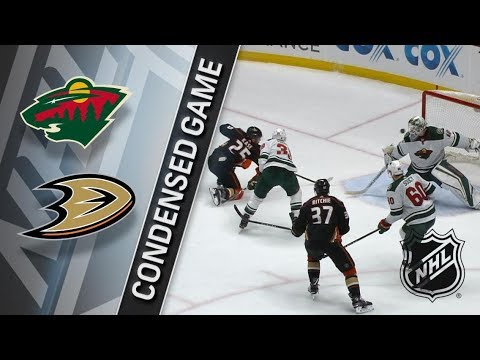 Minnesota Wild vs Anaheim Ducks – Apr. 04, 2018 | Game Highlights | NHL 2017/18. Обзор